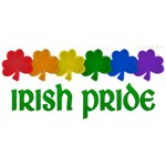 Rainbow Shamrock Irish Pride