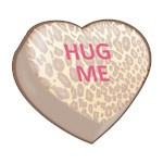 HUG ME  Candy Heart