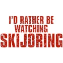 I'd Rather Be Watching Skijoring