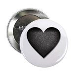 "Heart of Stone Anti Valentine's Day 2.25"" Button ("