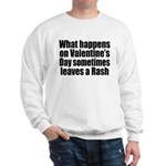 Love Heart Rose Sweatshirt