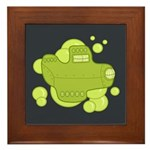 Submarine Framed Tile