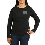 Being Single Priceless Dating Women's Long Sleeve