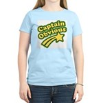 Captain Obvious Women's Light T-Shirt