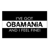 I've Got Obamania! Rectangle Sticker