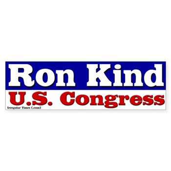 Ron Kind for U.S. Congress bumper sticker