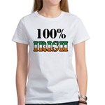 100 Percent Irish Women's T-Shirt