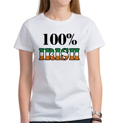 100 Percent Irish T-Shirts Women's T-Shirt