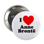 I Love Anne Bronte Button