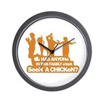 Chicken Dance Wall Clock