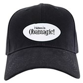 I Believe in Obamagic Black Cap