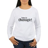 I Believe in Obamagic Women's Long Sleeve T-Shirt