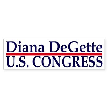 Re-Elect Diana DeGette to the United States Congress (Rep. Diana DeGette bumper sticker)
