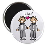 Men's Gay Marriage Magnet