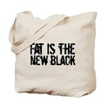 Fat Is The New Black Tote Bag