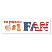 I'm Stephen's #1 Fan Bumper Sticker