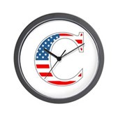 C stands for Colbert Wall Clock