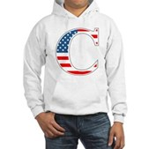 C stands for Colbert Hooded Sweatshirt