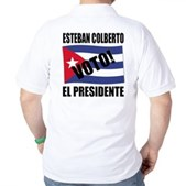Voto! Esteban Colberto Golf Shirt