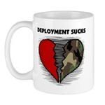 Deployment Sucks Military Mug