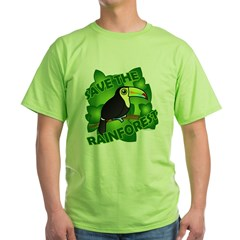 Save the Rainforest Green T-Shirt