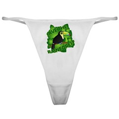 Save the Rainforest Classic Thong
