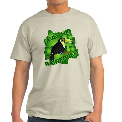 Save the Rainforest Light T-Shirt