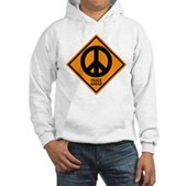 Peace Ahead Hooded Sweatshirt