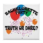Bachelorette Party Tile Coaster