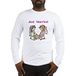 2 Brides Long Sleeve T-Shirt