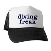 Diving Freak Trucker Hat