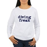 Diving Freak Women's Long Sleeve T-Shirt