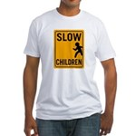 Slow Children Fitted T-Shirt