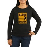 Slow Children Women's Long Sleeve Dark T-Shirt