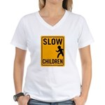 Slow Children Women's V-Neck T-Shirt