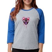 Birdorable Shy Albatross Women's Raglan Hoodie