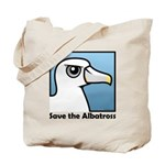 Save the Albatross (close-up) Tote Bag