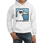 Save the Albatross (close-up) Hooded Sweatshirt