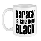 Barack is the New Black Mug
