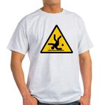 Warning: Clumsy! Light T-Shirt