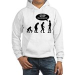 Evolution is following me Hooded Sweatshirt