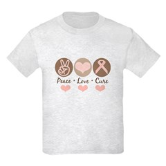 Breast Cancer Awareness Kids Light T-Shirt