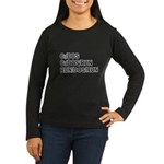 See DOS Run Women's Long Sleeve Dark T-Shirt
