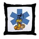 Thanksgiving EMS Throw Pillow