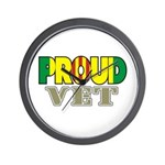 Proud Vietnam Veteran Vet Wall Clock