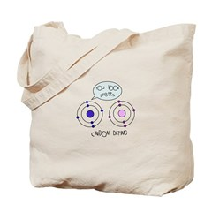 Carbon Dating Tote Bag