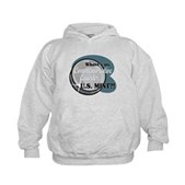 Where's My Commemorative Quarter? Kids Hoodie