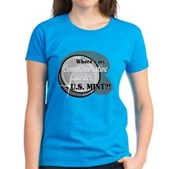 Where's My Quarter? Women's Dark T-Shirt