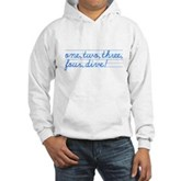 1,2,3,4,DIVE! Hooded Sweatshirt