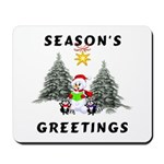 Christmas Greetings Mousepad